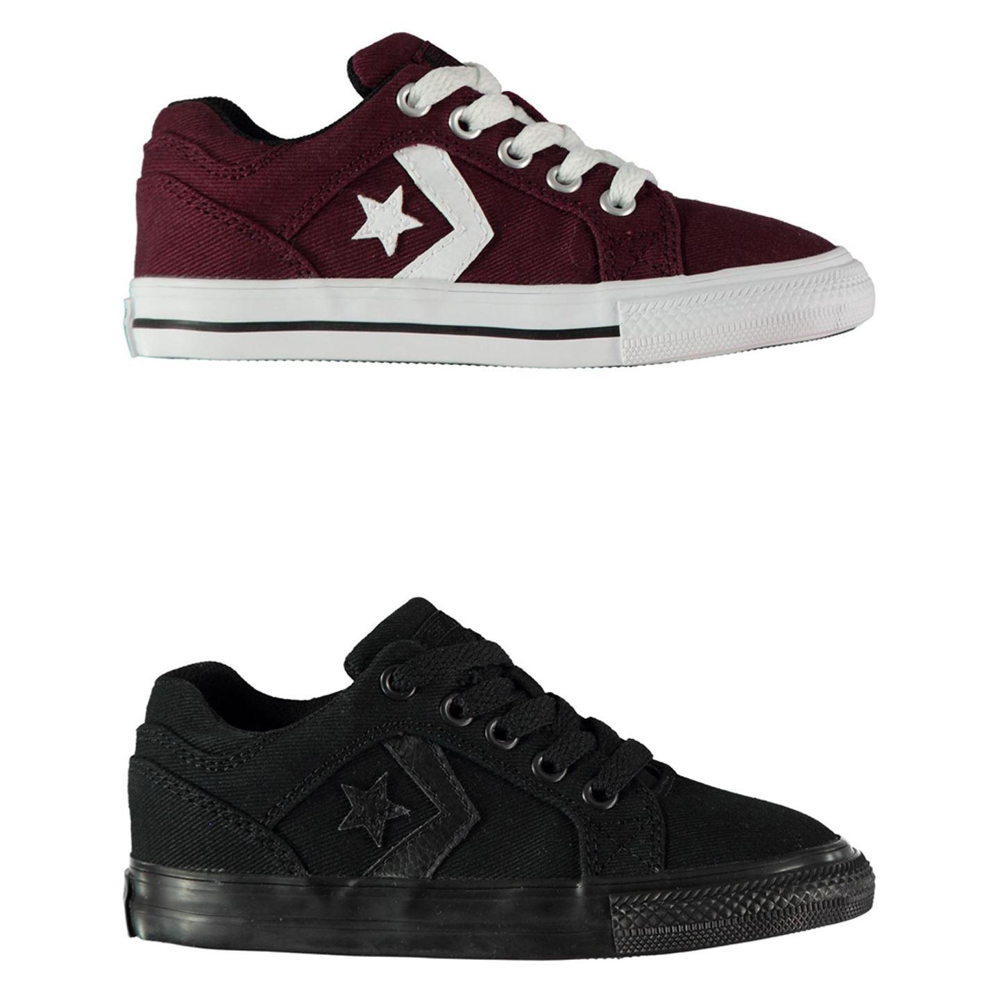 Details about Converse El Distrito Trainers Boys Shoes Footwear