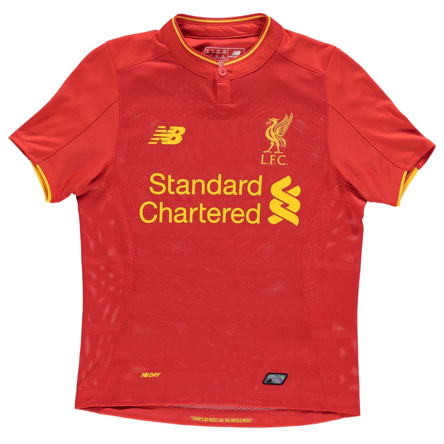 81ff73e36f7 ... New Balance Liverpool FC Home Jersey 2016 2017 Juniors Red Football  Soccer Shirt