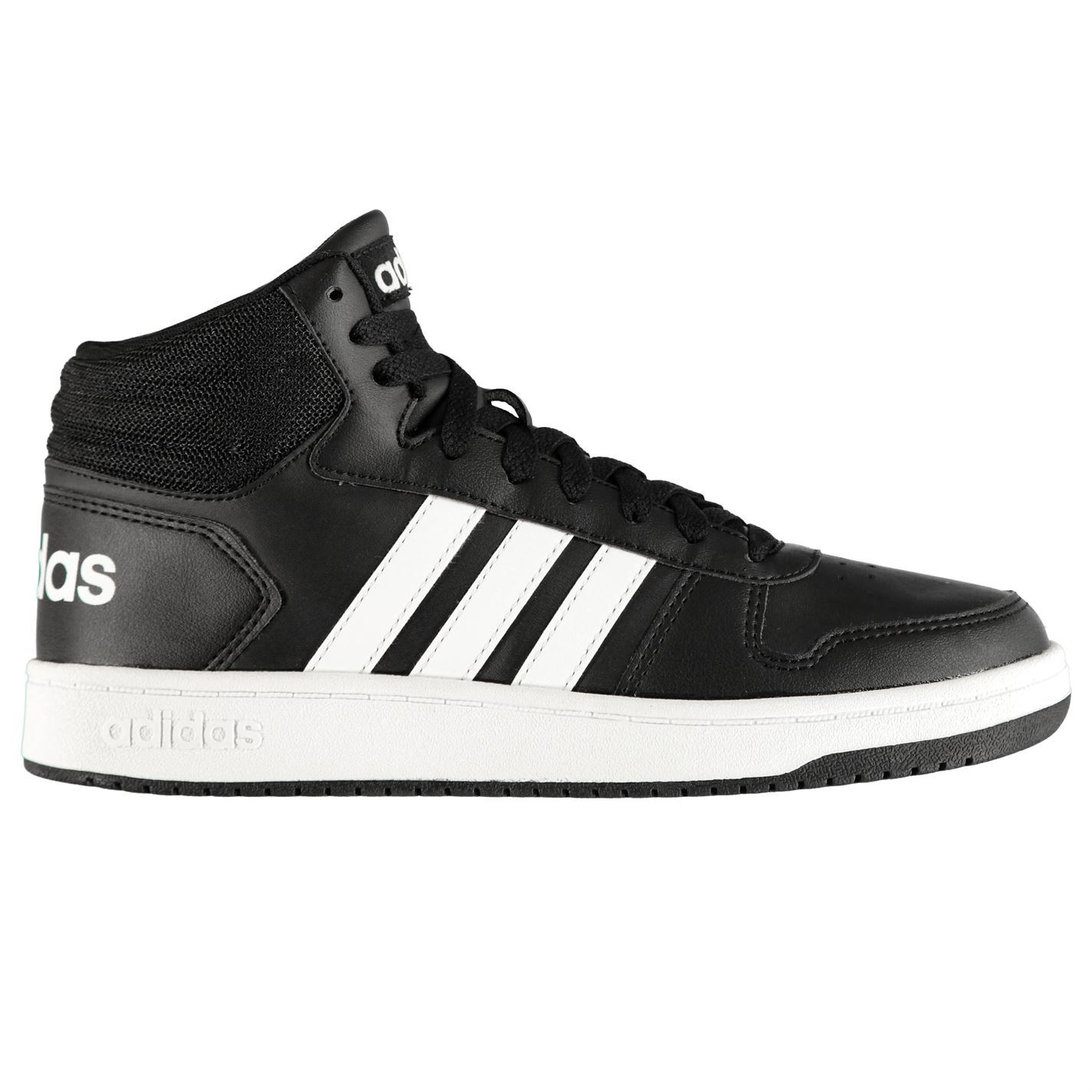 Adidas-Hoops-Mi-Montantes-Homme-athleisure-Chaussures-Baskets-Chaussures miniature 3