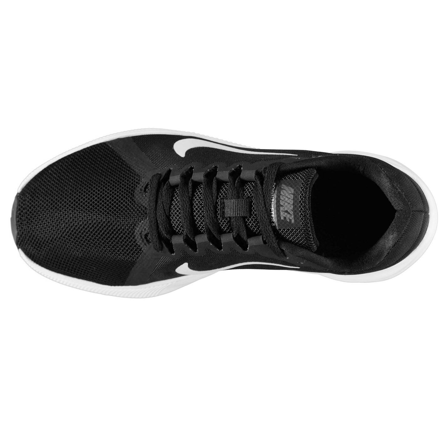 best sneakers 9a4e6 4181b ... Nike Downshifter 8 Running Shoes Womens Black White Jogging Trainers  Sneakers