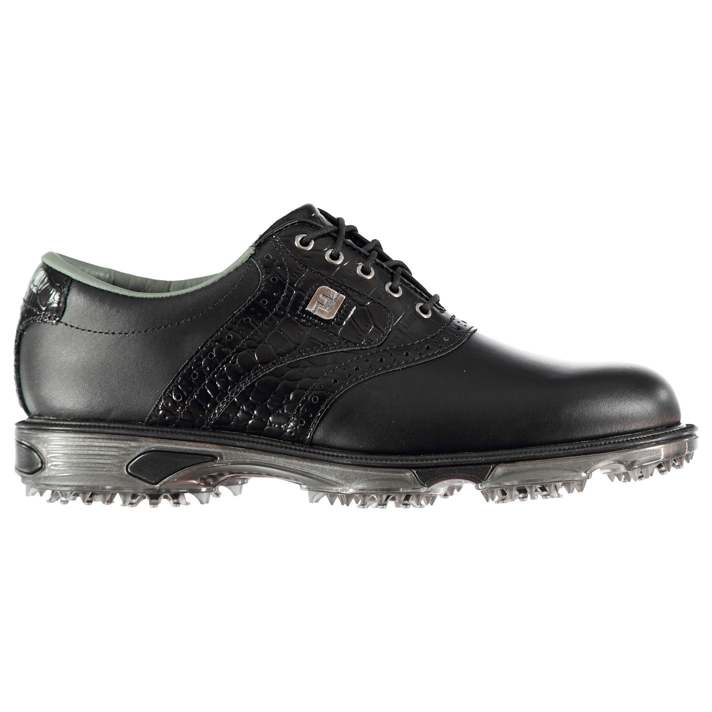 Footjoy-DryJoys-Tour-Golf-Shoes-Mens-Spikes-Footwear thumbnail 3