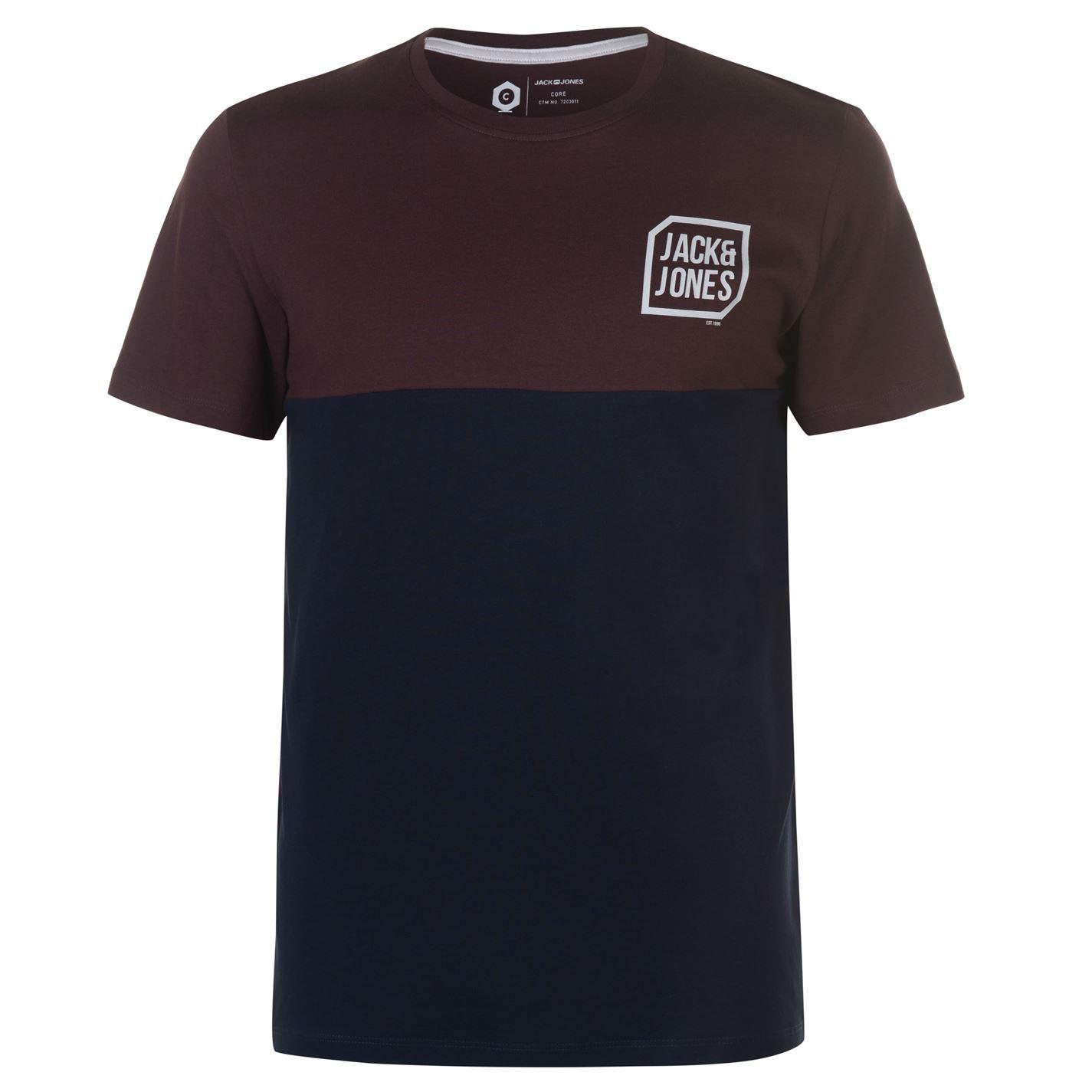 Jack-and-Jones-Core-Tern-T-Shirt-Mens-Tee-Shirt-Top thumbnail 8