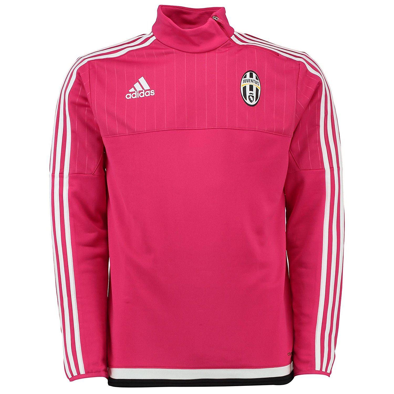 c3ad2fdad49 ... adidas Juventus Training Sweatshirt Mens Pink Football Soccer Juve Top  Sweater ...