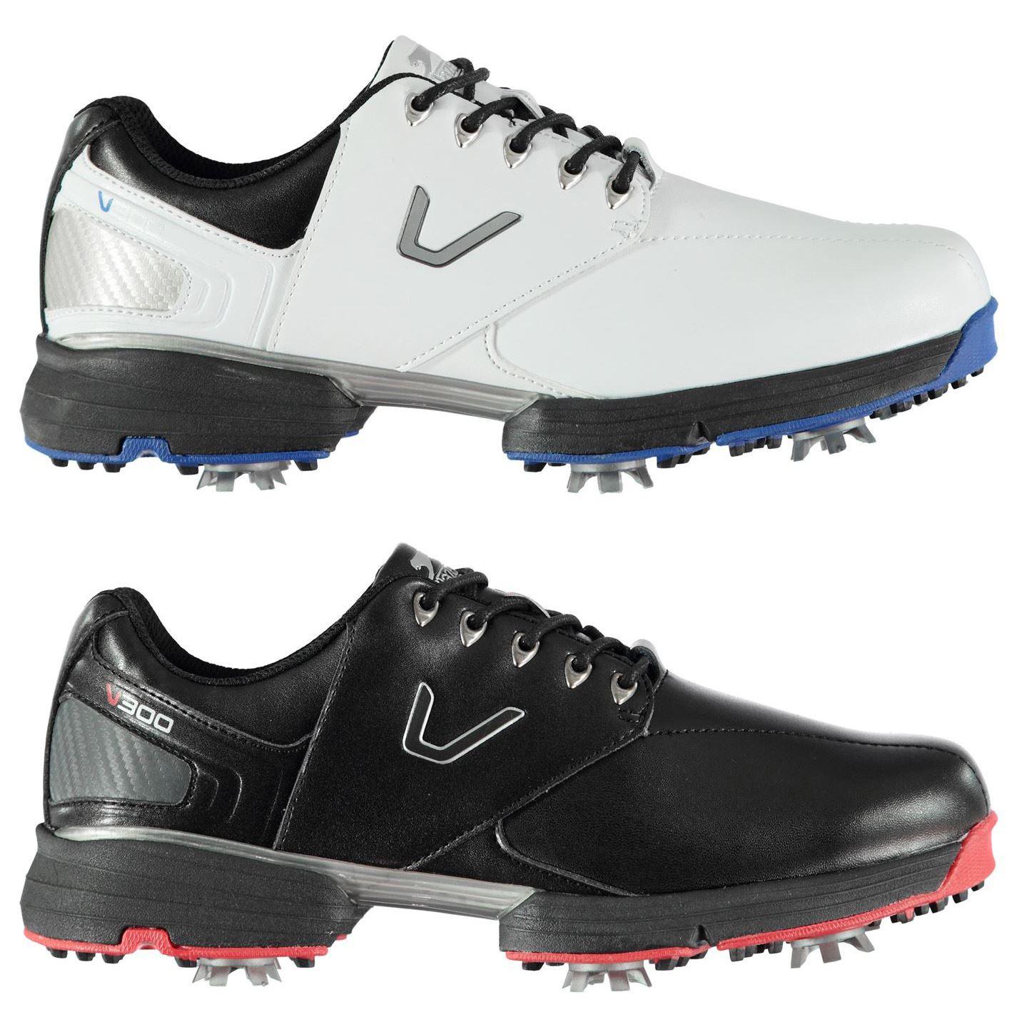 2dc55888659 ... Slazenger V300 Golf Shoes Mens Spikes Footwear ...