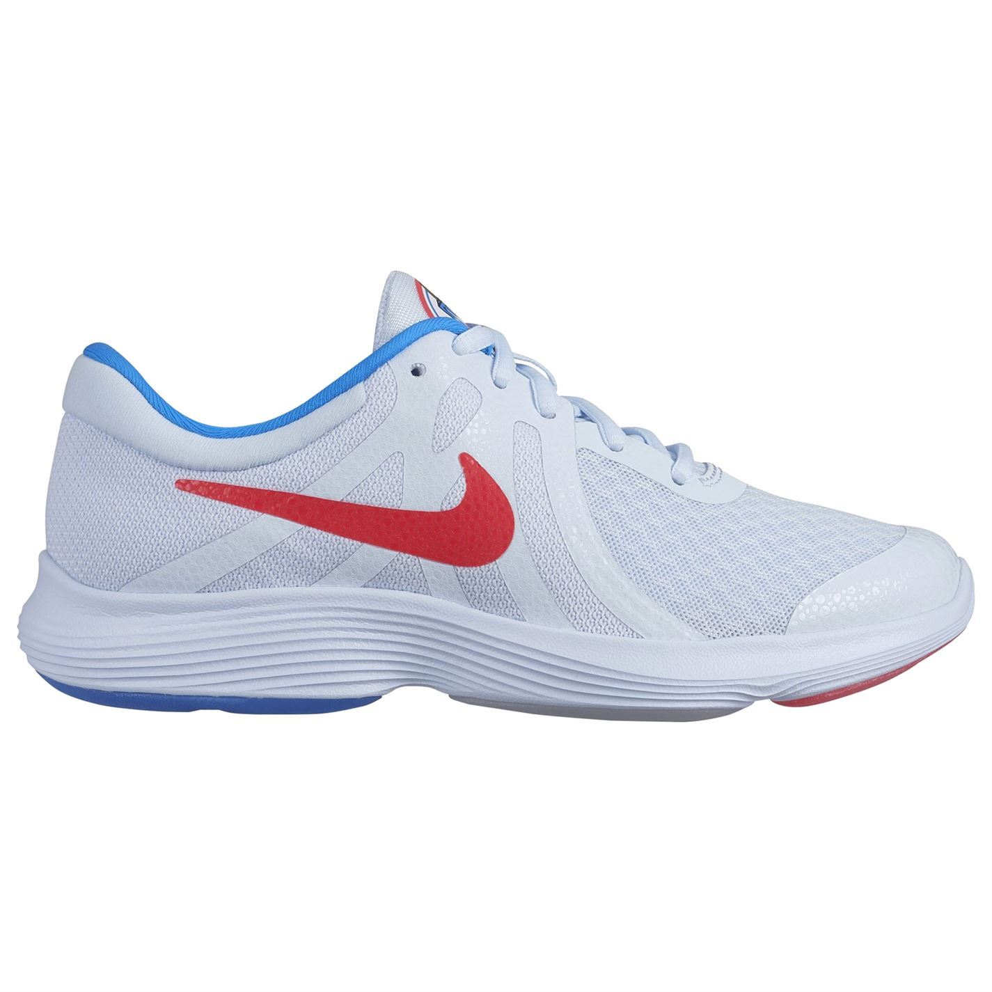 me quejo Favor prestar  Nike Revolution 4 Heat Check Junior Trainers Boys Shoes Running Blue  Footwear | eBay