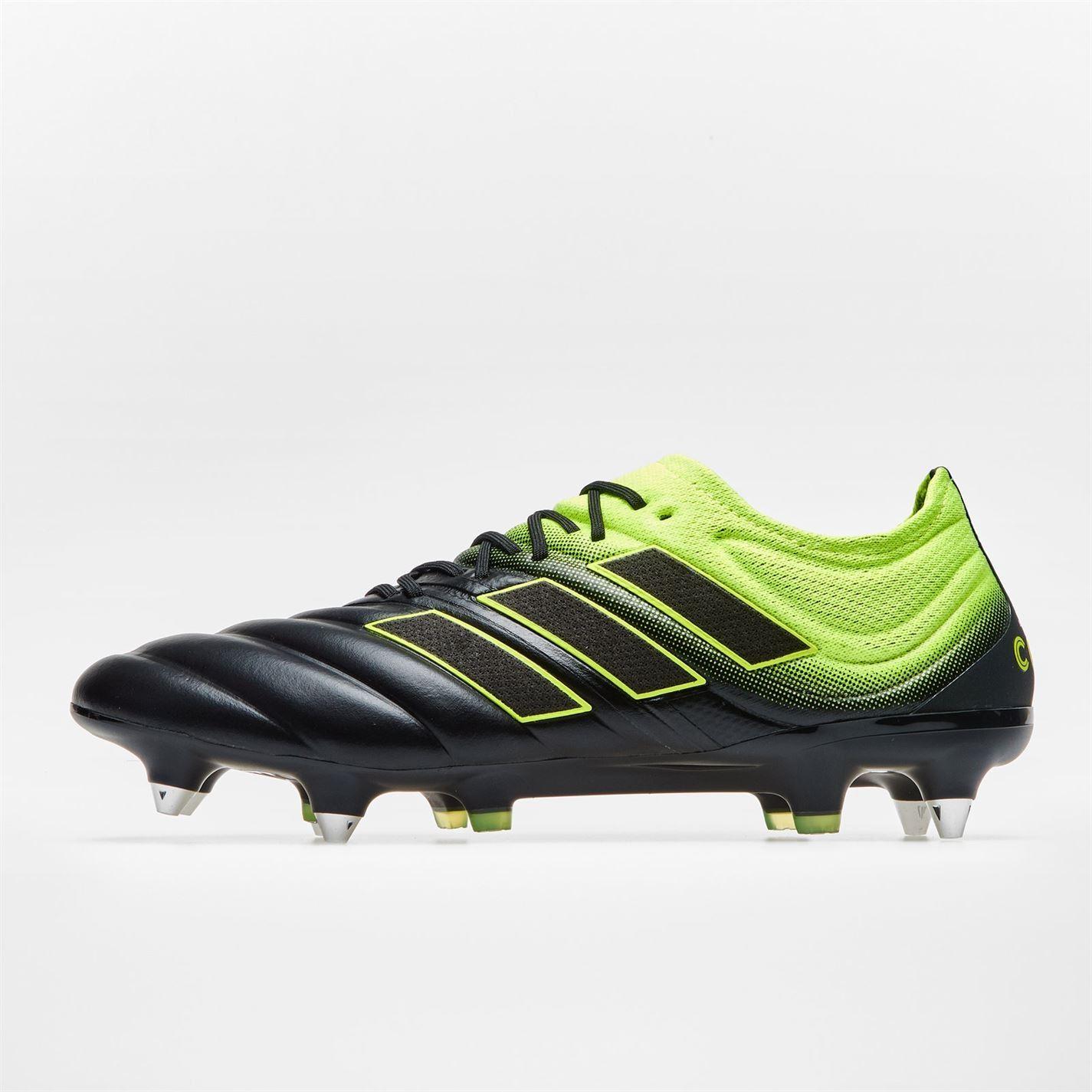 miniature 4 - Adidas-Copa-19-1-Homme-pignon-fixe-Terre-Ferme-Chaussures-De-Football-Chaussures-de-Foot-Crampons