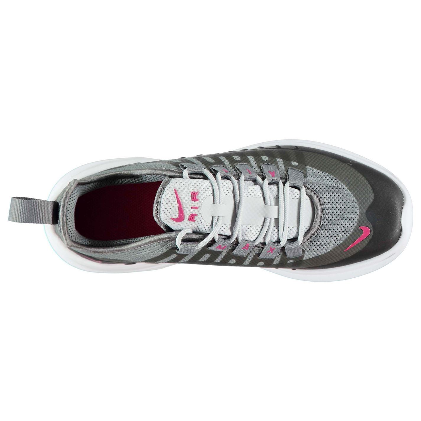 Details about Nike Air Max Axis Trainers Junior Girls BlackPink Shoes Footwear