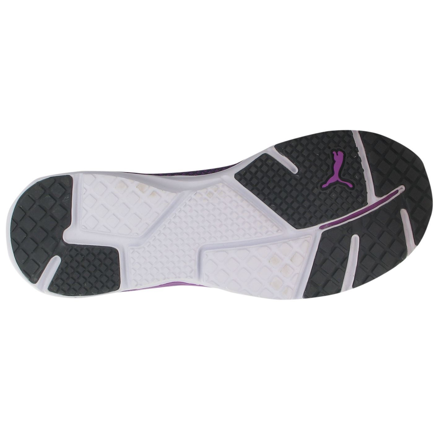 1ffb9f9f386 ... Puma Pulse Flex XT EverFit Running Shoes Womens Grey Purple Trainers  Sneakers