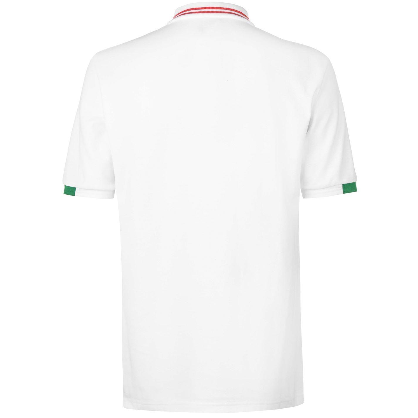 9473450a55 FIFA World Cup 2018 Mexico Polo Shirt Mens White Football Soccer Top T-Shirt