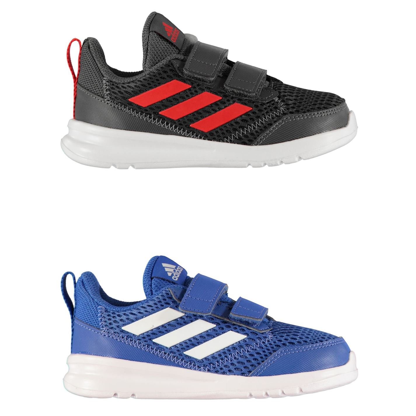 Détails sur Adidas Alta Manche Longue Courir Enfant Garçon Baskets Chaussures