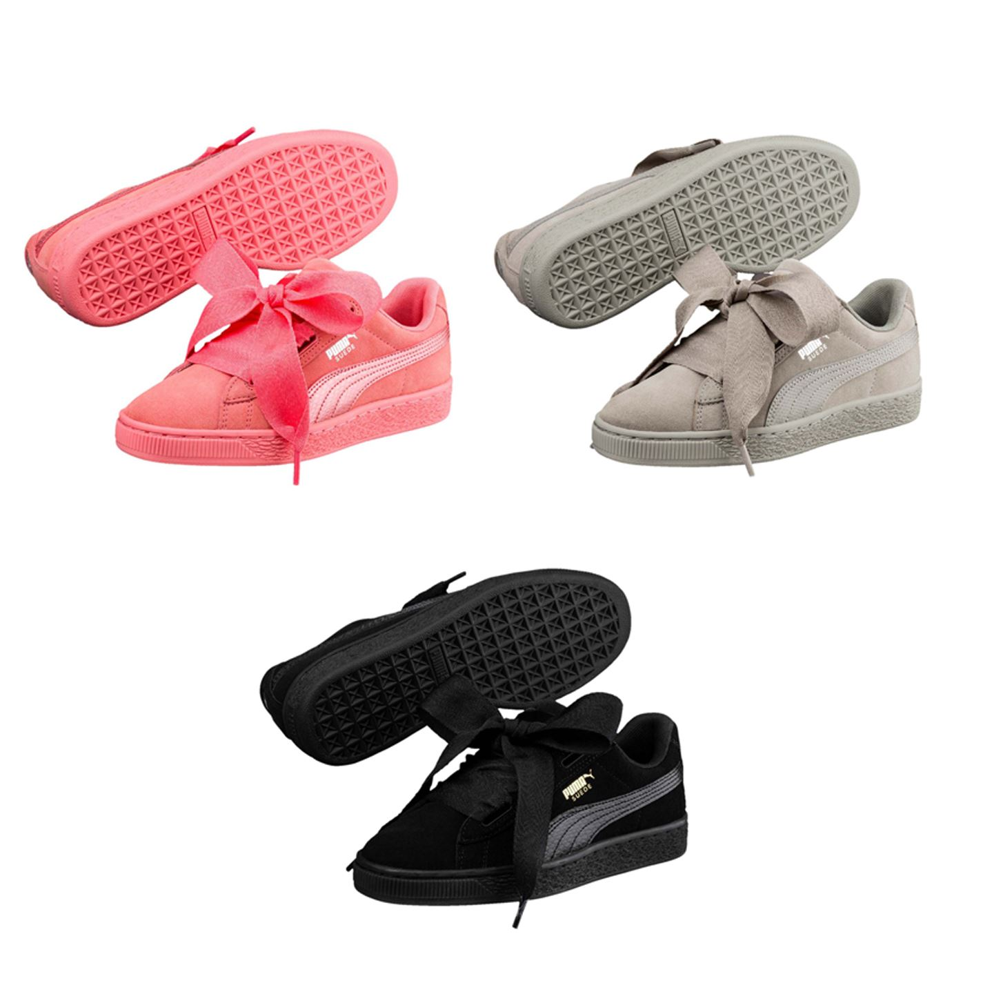 ... Puma Suede Heart Sneakers Girls Shoes Footwear ... e9c509cca