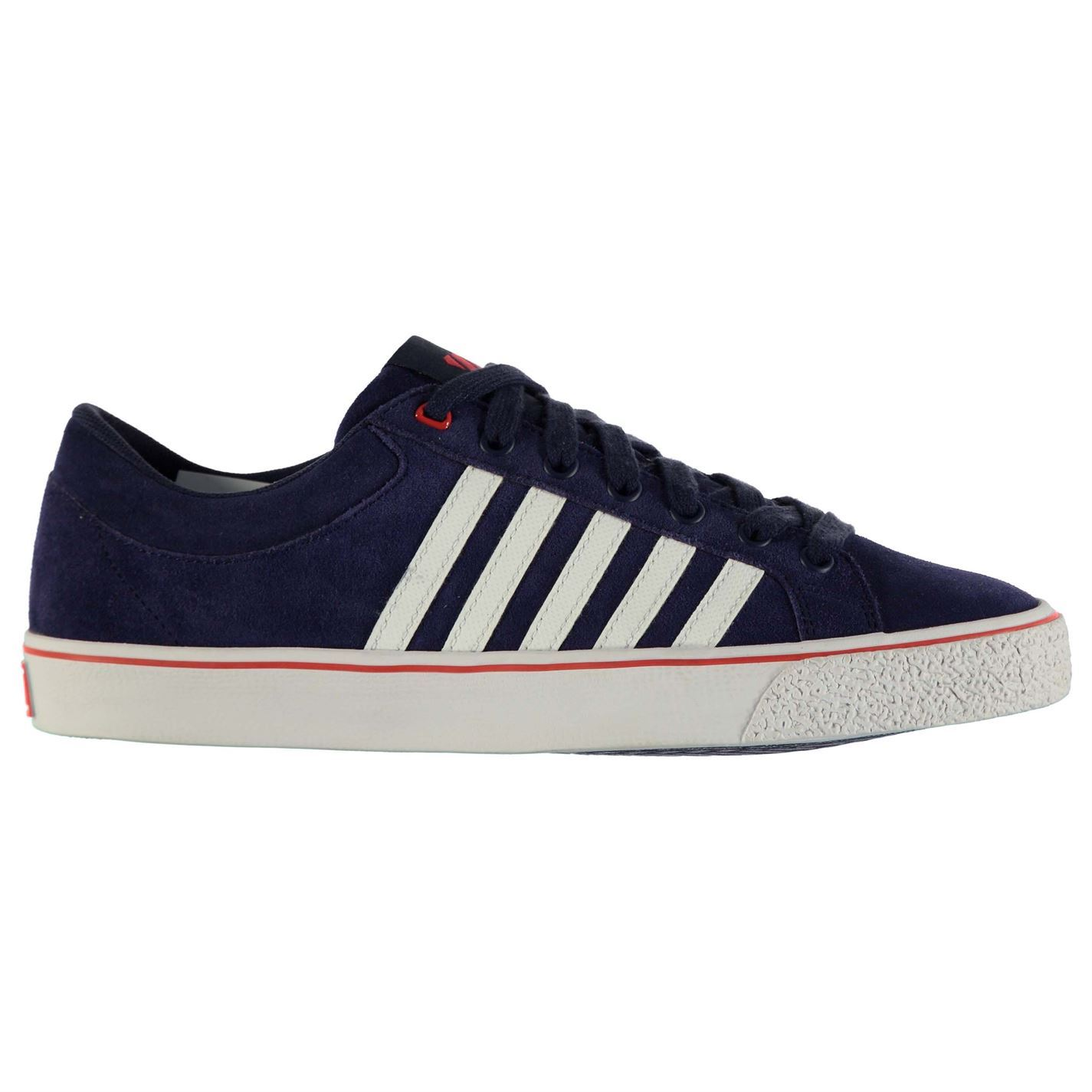 K Swiss Adcourt LA Casual Trainers Mens Nvy Wht Red Fashion Trainers Sneakers