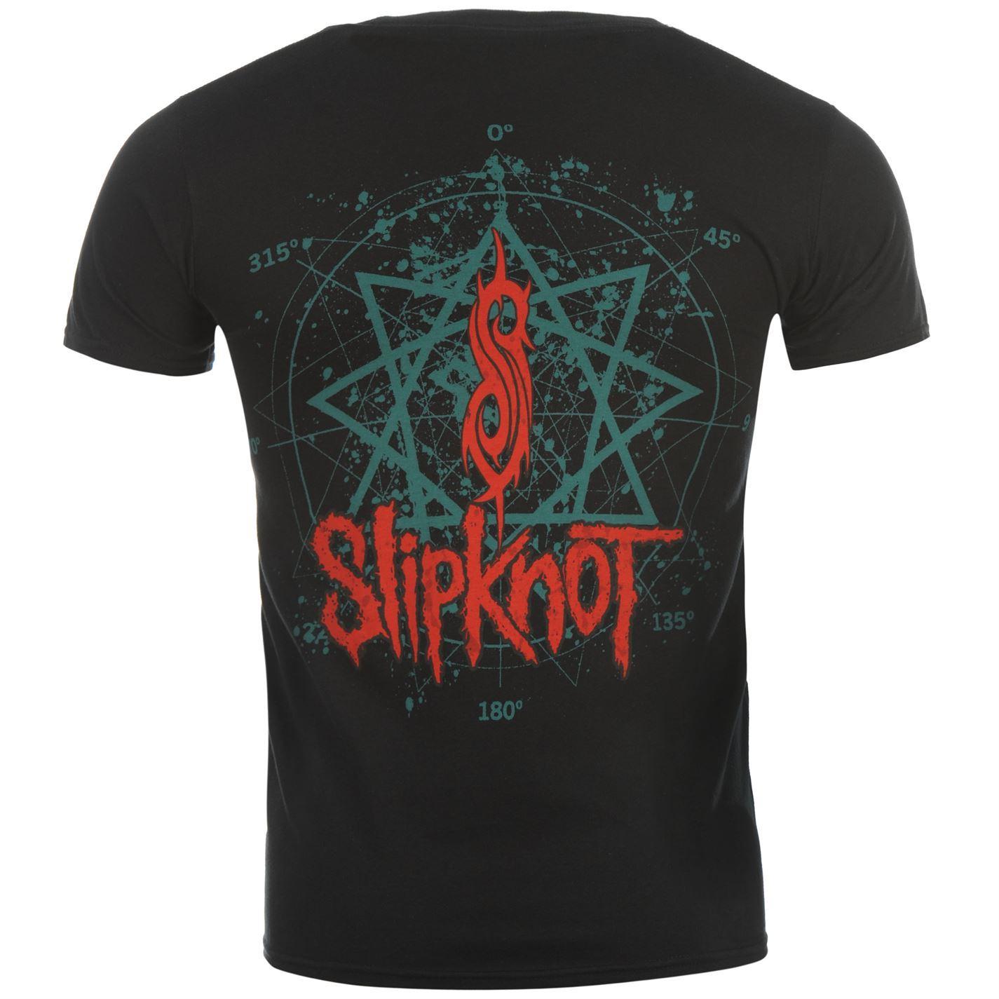 Official-Slipknot-T-Shirt-Mens-Masks-Top-Tee-Tshirt thumbnail 7