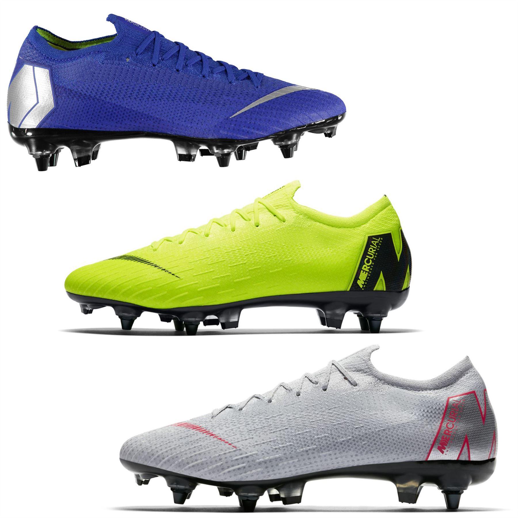 3fcef235af0 ... Nike Mercurial Vapor Elite SG Soft Ground Football Boots Mens Soccer  Shoe Cleats ...