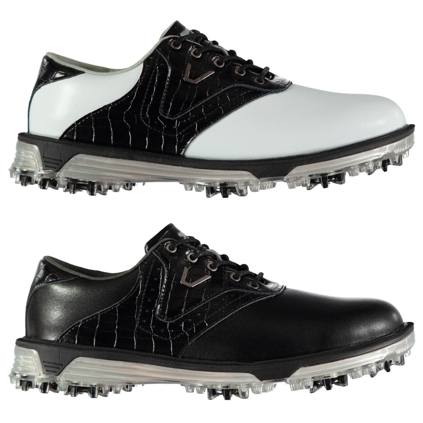 133c6dd9dca ... Slazenger V500 Golf Shoes Mens Spikes Footwear ...