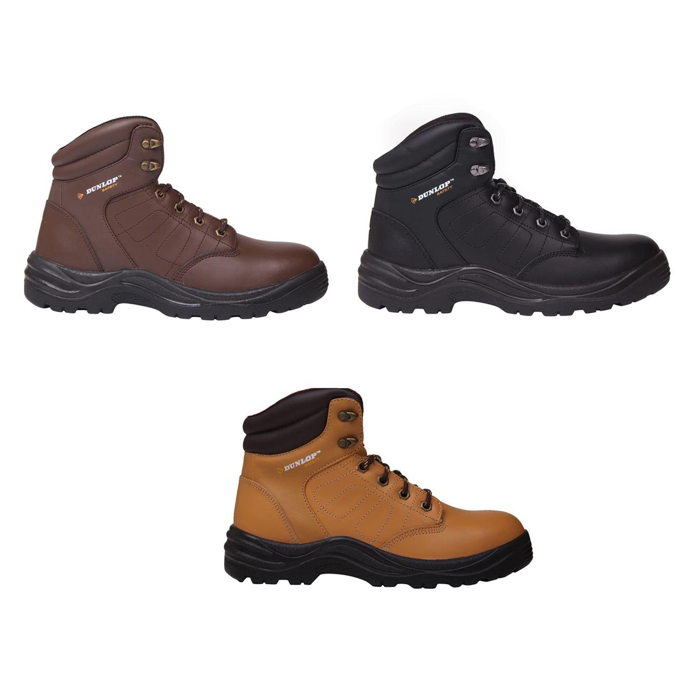 df78b12d969 Details about Dunlop Dakota Steel Toe Cap Safety Boots Mens Work Shoes