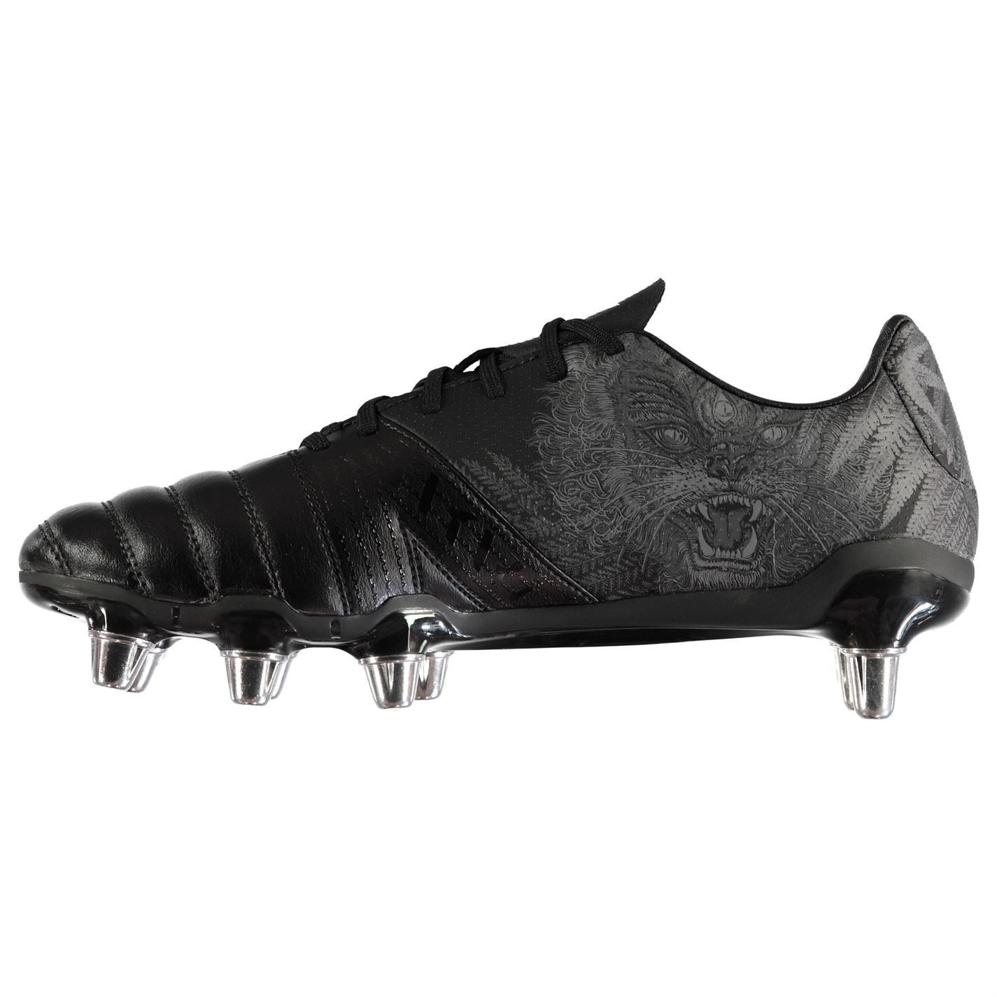 adidas Kakari SG Rugby Boots Mens Black Football Cleats Sports Outdoor Footwear