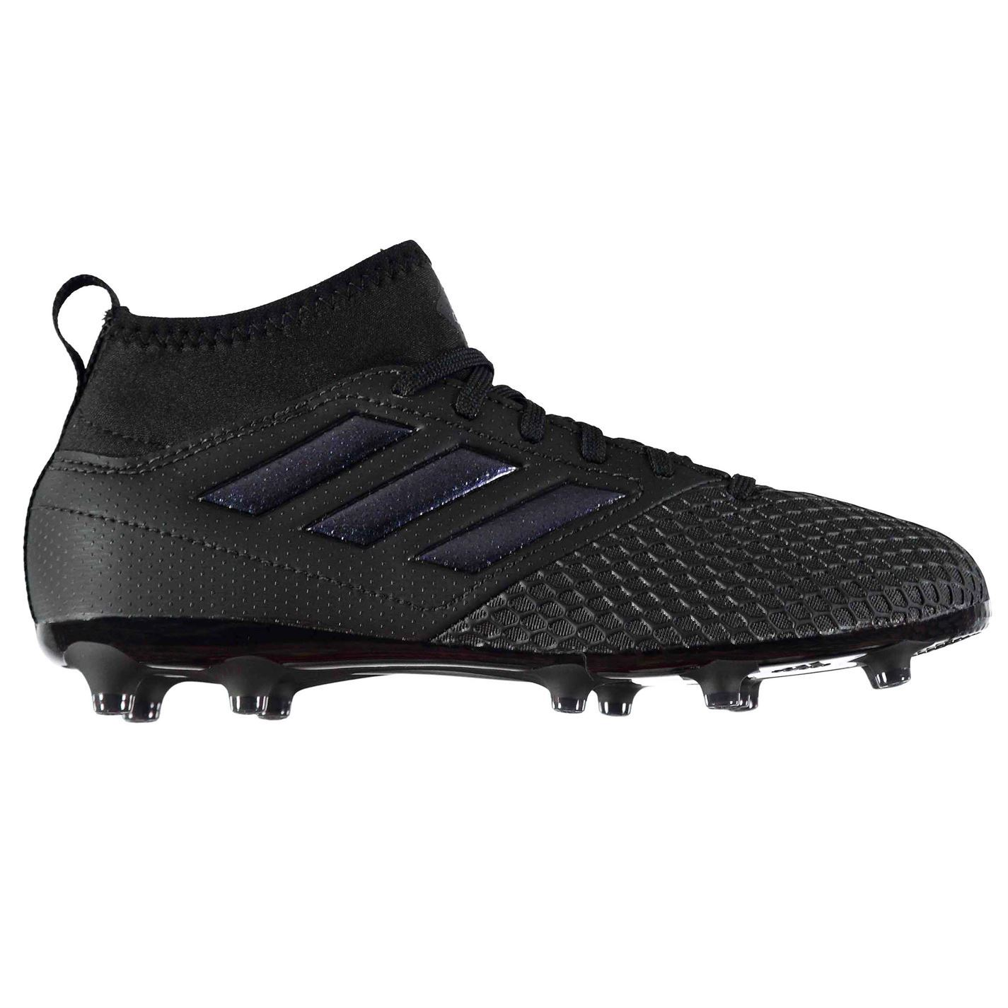 be1533dc0daa ... 50% off adidas ace 17.3 primemesh firm ground football boots juniors  black soccer cleats 97a16