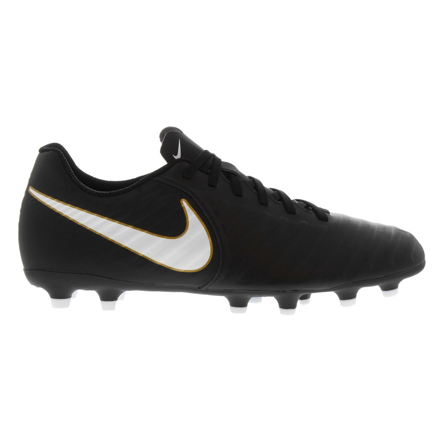 b092b871 ... Nike Tiempo Rio FG Firm Ground Football Boots Mens Black Soccer Shoes  Cleats ...