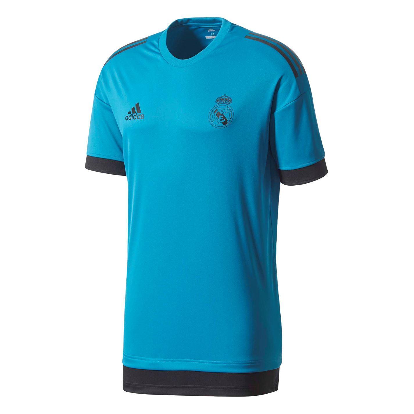 adidas Real Madrid EU Camiseta de Entrenamiento, Hombre