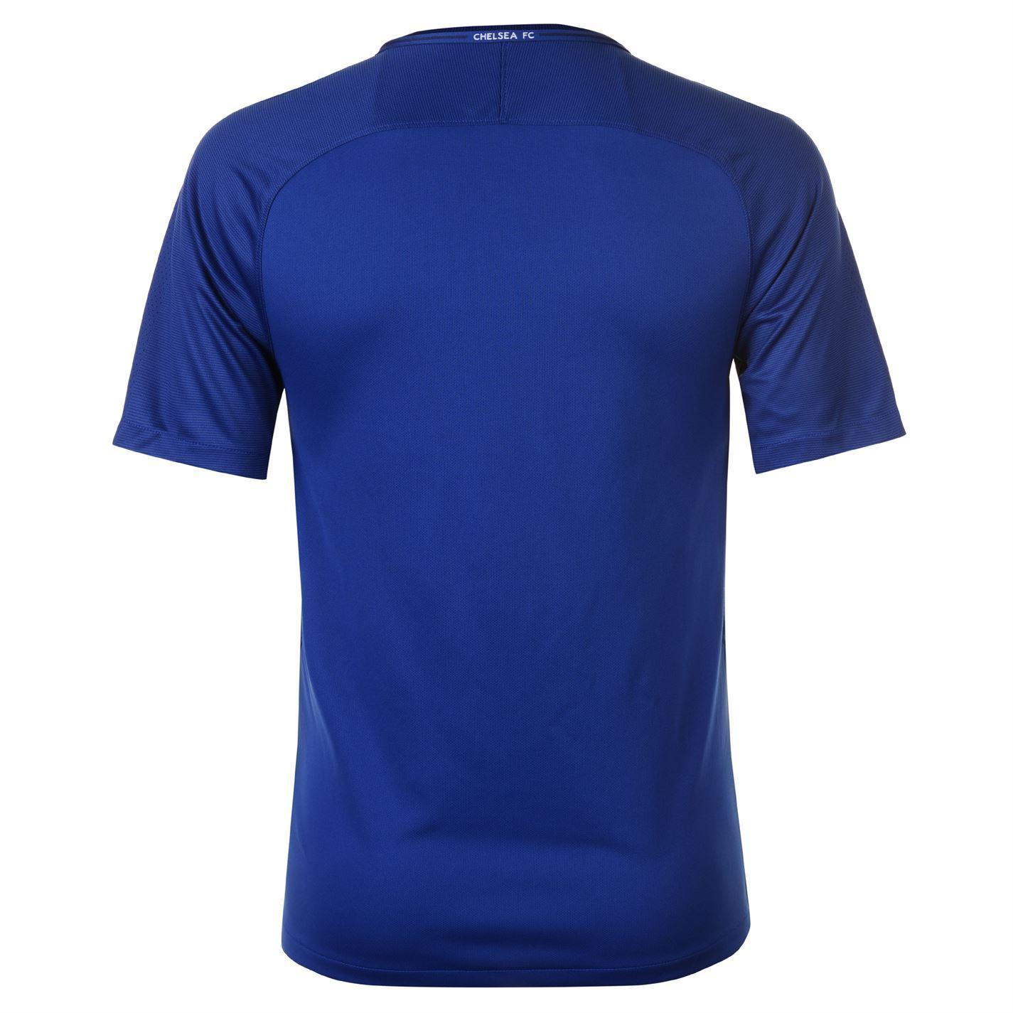 de191657b ... Nike Chelsea Home Jersey 2017 2018 Mens Blue Football Soccer Fan Shirt  Top ...