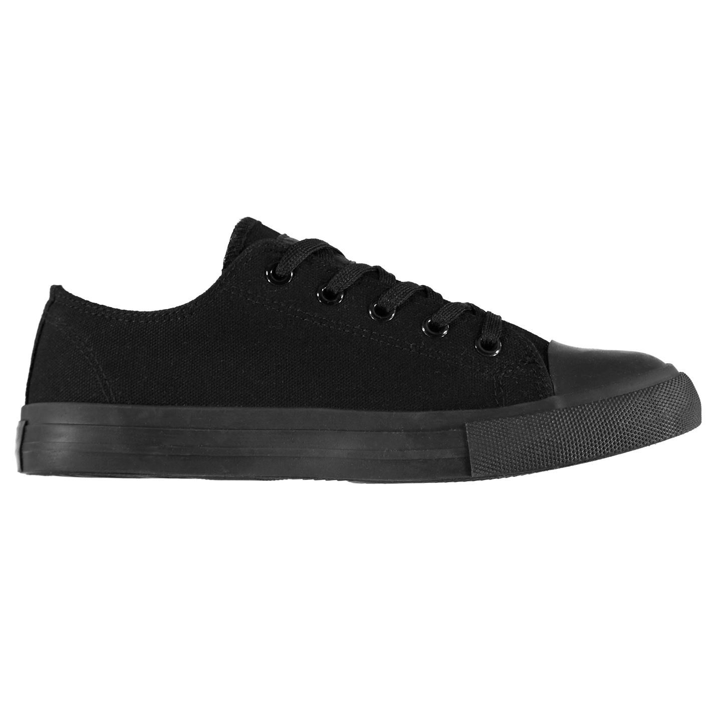 Lee Cooper Canvas Lo Shoes Childs Boys