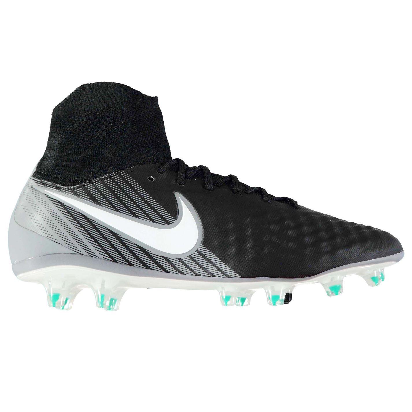 bfa7444ba ... Nike Magista Orden II terra Bitte Calcio calcio stivali uomo nero/bianco  ...