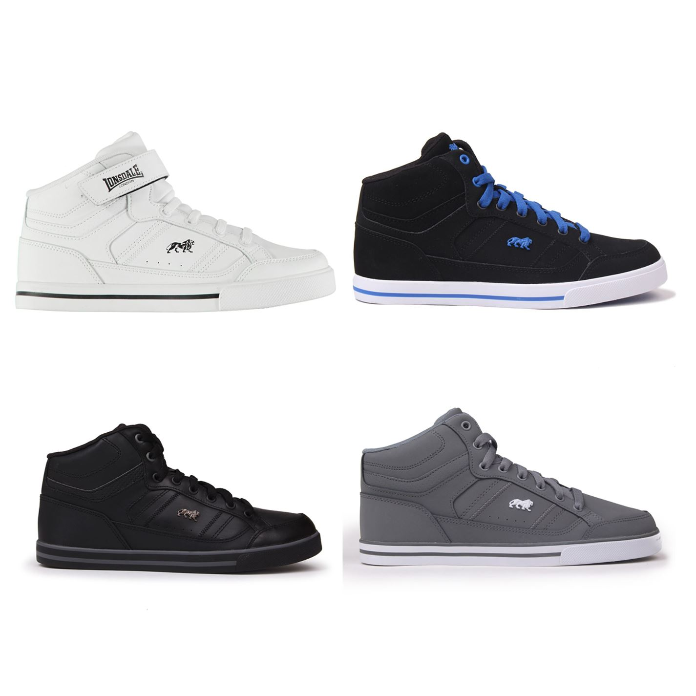 Lonsdale Canon Kids Trainers Girls