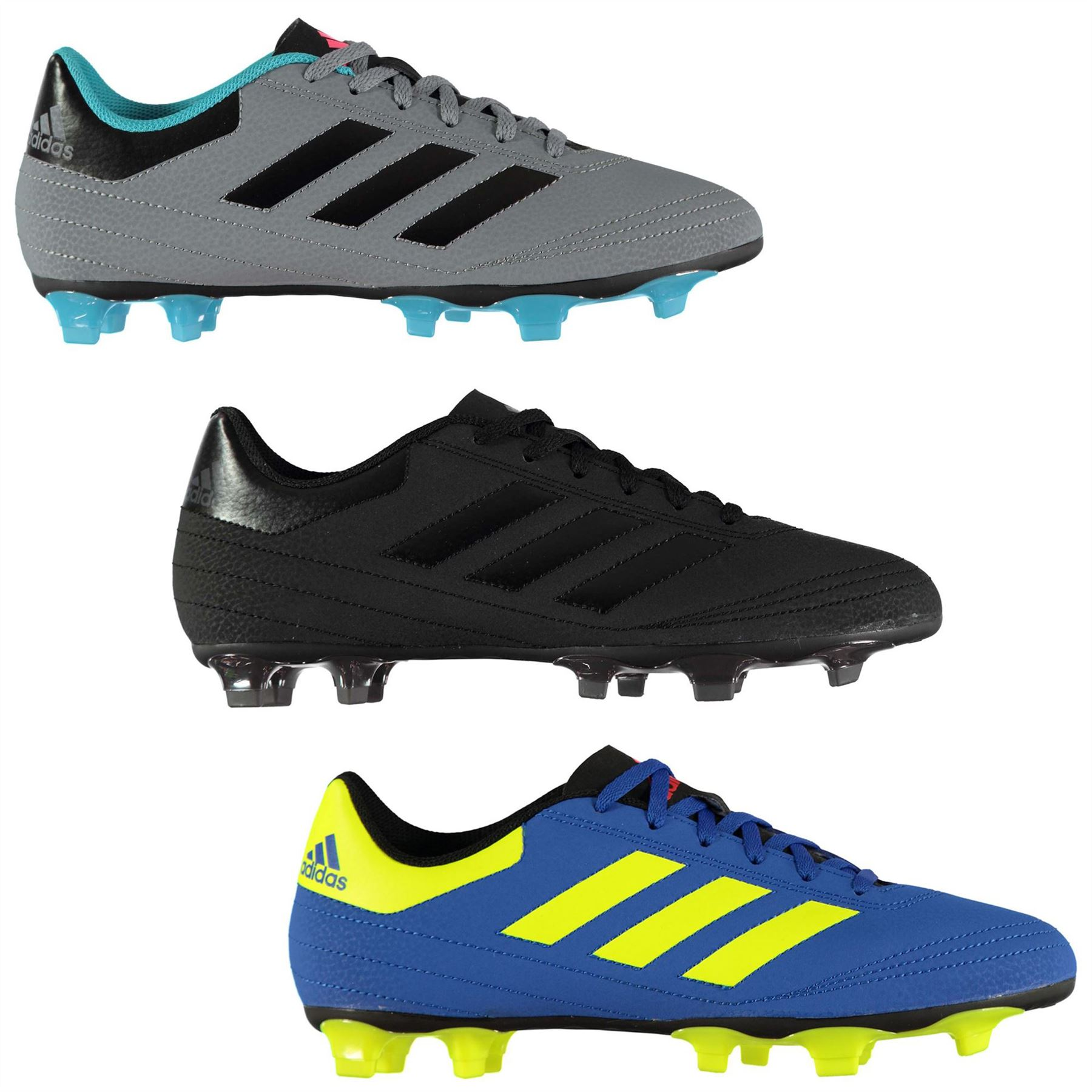 ... adidas Goletto Firm Ground Football Boots Mens Soccer Shoes Cleats ... 6e49ed58cdc67