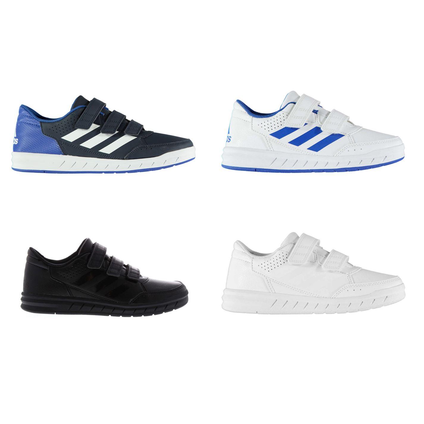 new product af56b bdad0 adidas Alta Sport CF Junior Boys Trainers Shoes Footwear