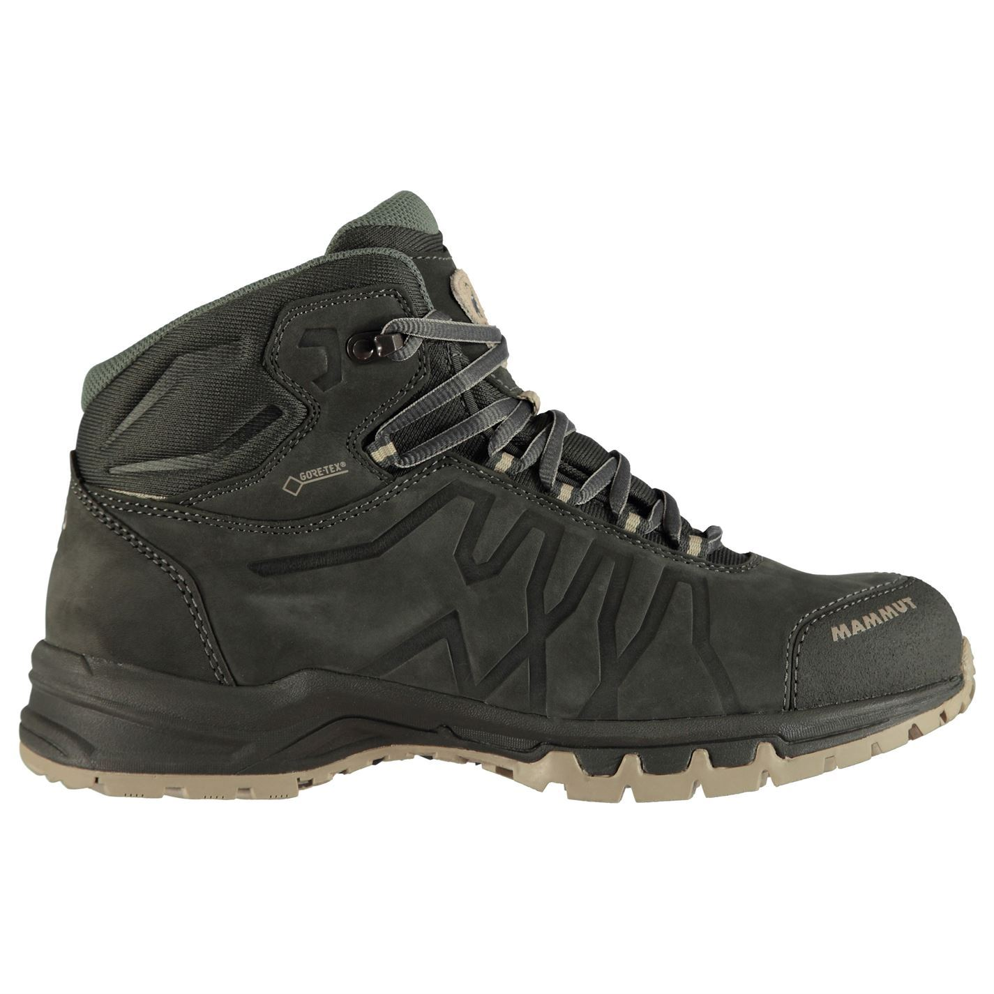 promo code a2f80 14b7a Details about Mammut Mercury Mid III GTX Walking Boots Mens Grey Hiking  Footwear Shoes