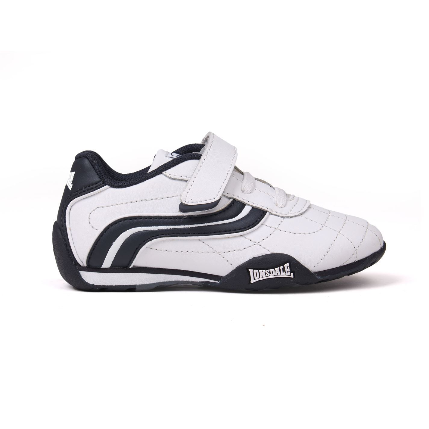 reliable quality huge sale thoughts on Details about Lonsdale Camden Infants Trainers Boys Shoes Footwear