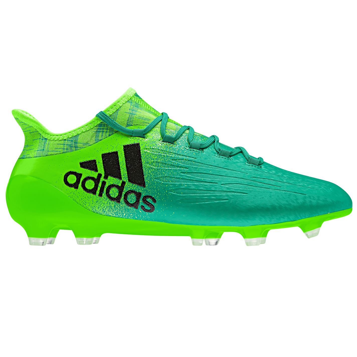 super popular 430c8 10df1 adidas X 16.1 FG Firm Ground Football Boots Mens Green Black Soccer Shoes  Cleats
