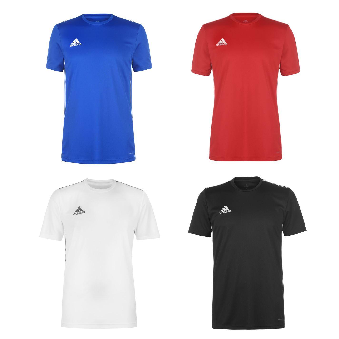 Détails sur Adidas Coeur T Shirt Hommes Haut T Shirt Fitness de Sport Noir Blanc Xs
