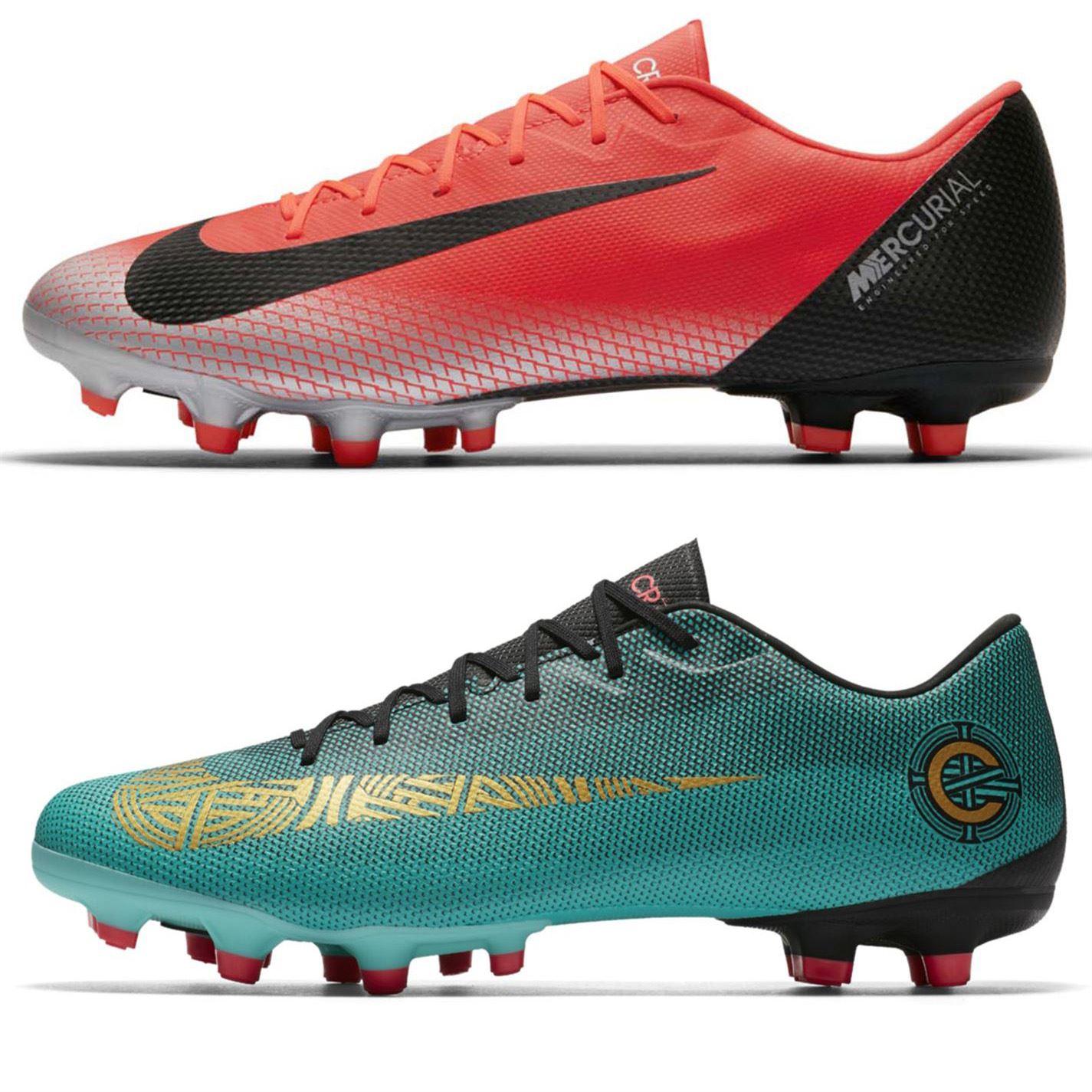 Dettagli su Nike Mercurial Vapor Accademia CR7 Firm Scarpe da Calcio Uomo Calcio Tacchetti