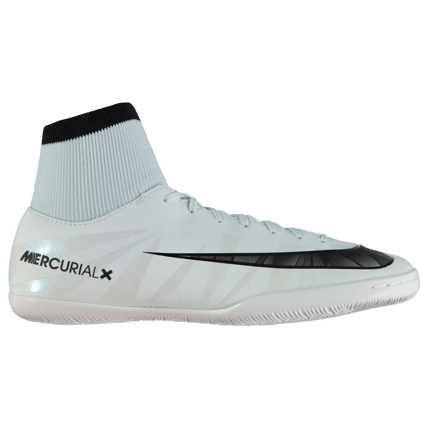 3c41df894de ... Nike MercurialX Victory CR7 DF Indoor Football Trainers Mens Blue  Soccer Shoes ...