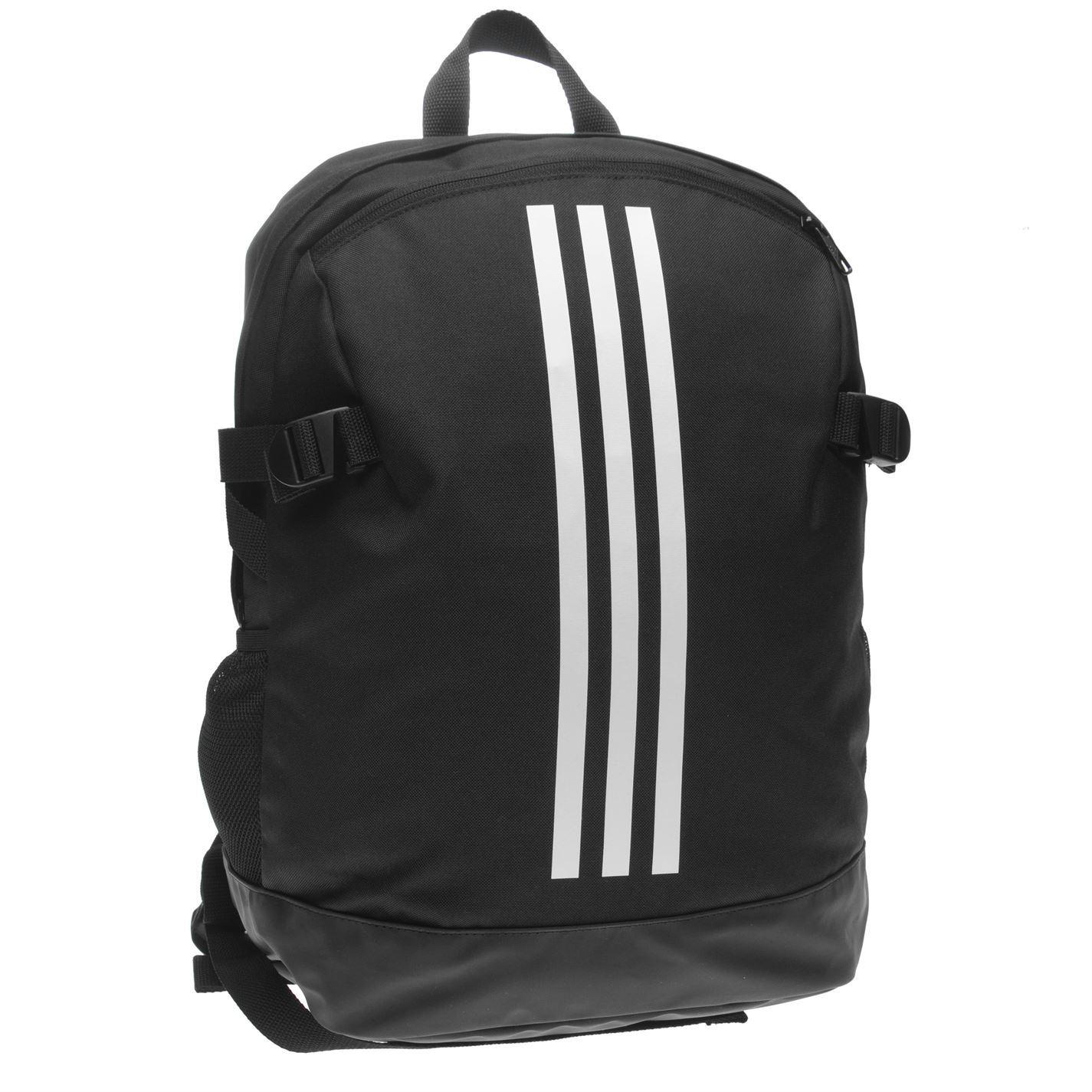 c1f956f8b88 adidas Power 4 Backpack Black White Sports Bag Holdall Rucksack   eBay