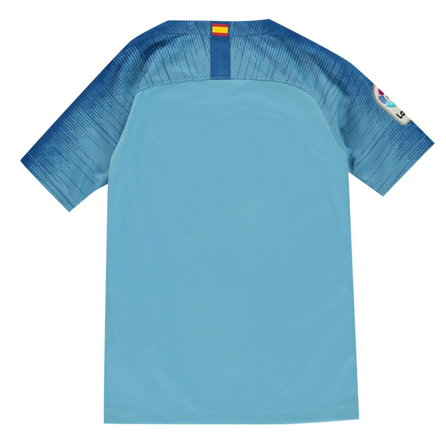 e7557546d ... Nike Atletico Madrid Away Jersey 2018 2019 Juniors Blue Football Soccer  Shirt