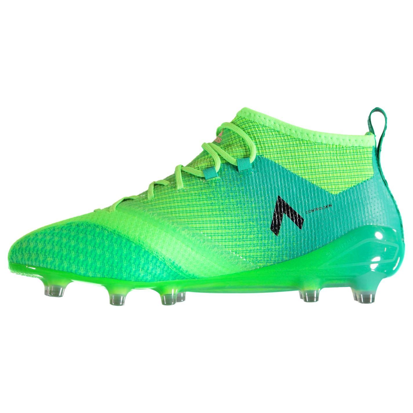 ... adidas Ace 17.1 Primeknit Firm Ground Football Boots Mens Green Soccer  Cleats dcdfd0e347623