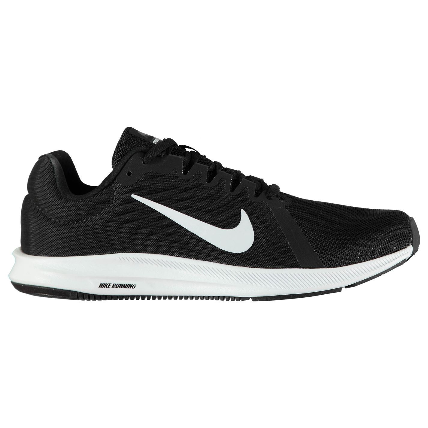 75eb81531f92 ... Nike Downshifter 8 Running Shoes Mens Black White Jogging Trainers  Sneakers ...