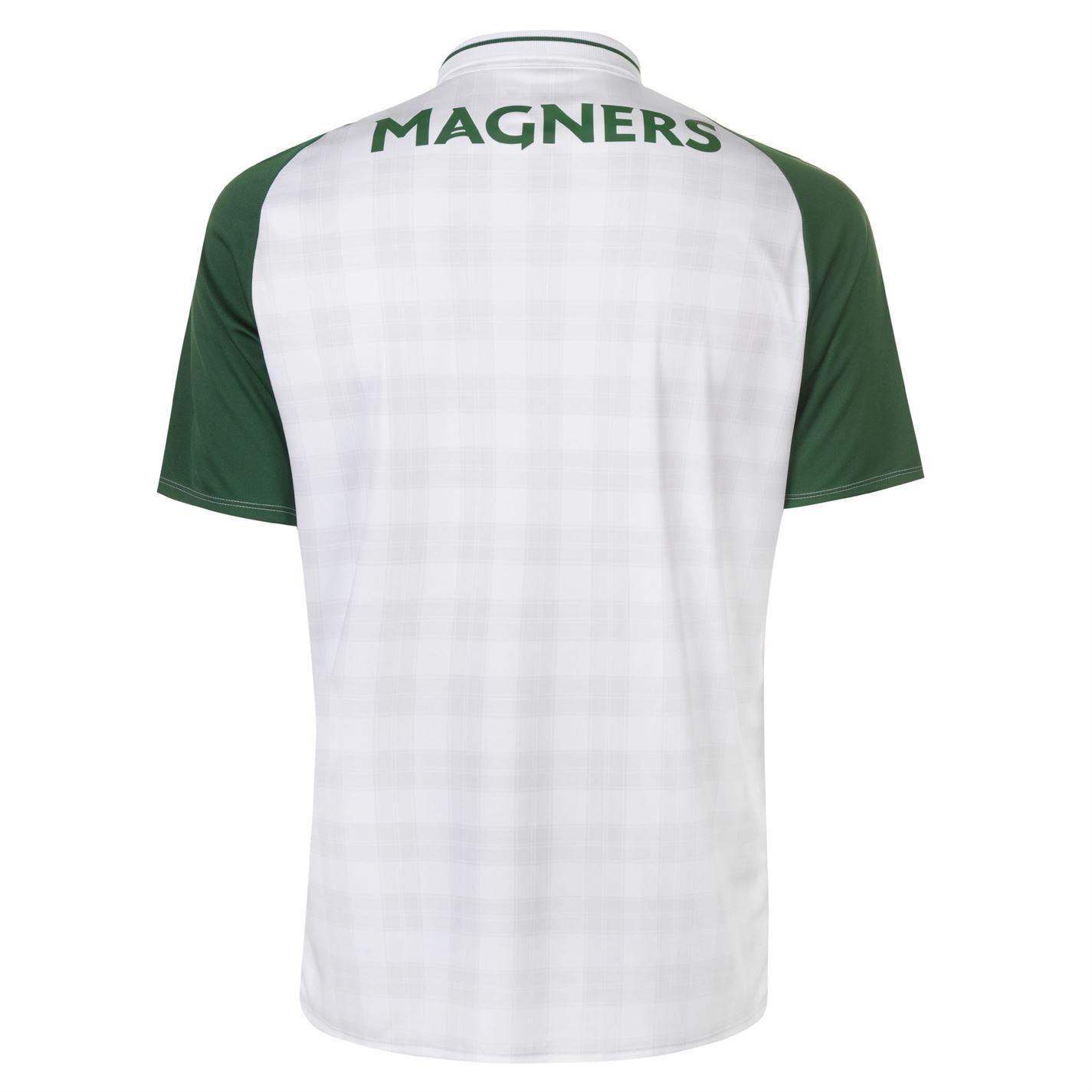 a40fbafe45692 ... New Balance Celtic Away Jersey 2018 2019 Juniors White Football Soccer  Shirt Top ...