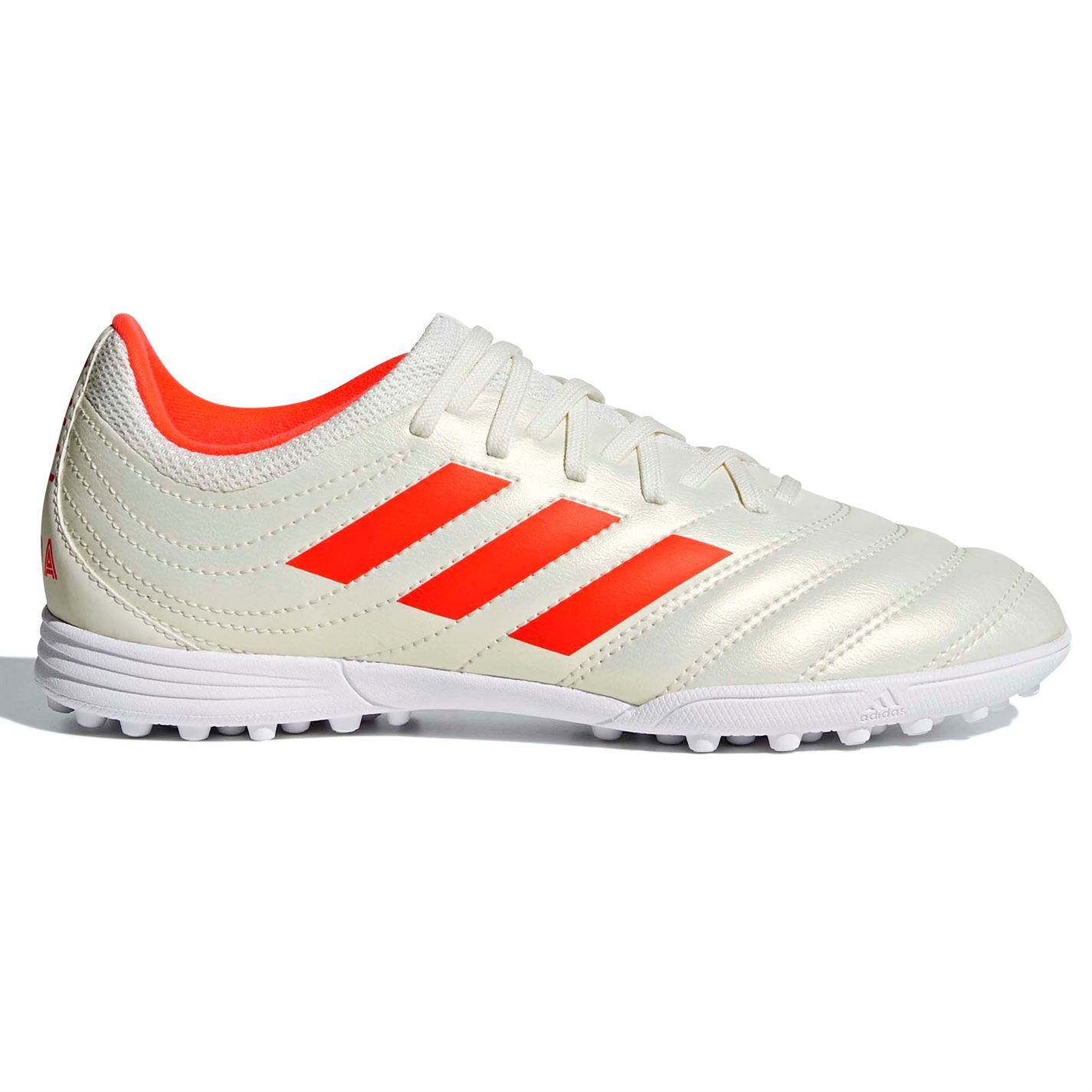 best service 86743 fc8dc ... adidas Copa 19.3 Astro Turf Football Trainers Juniors White Soccer  Shoes ...