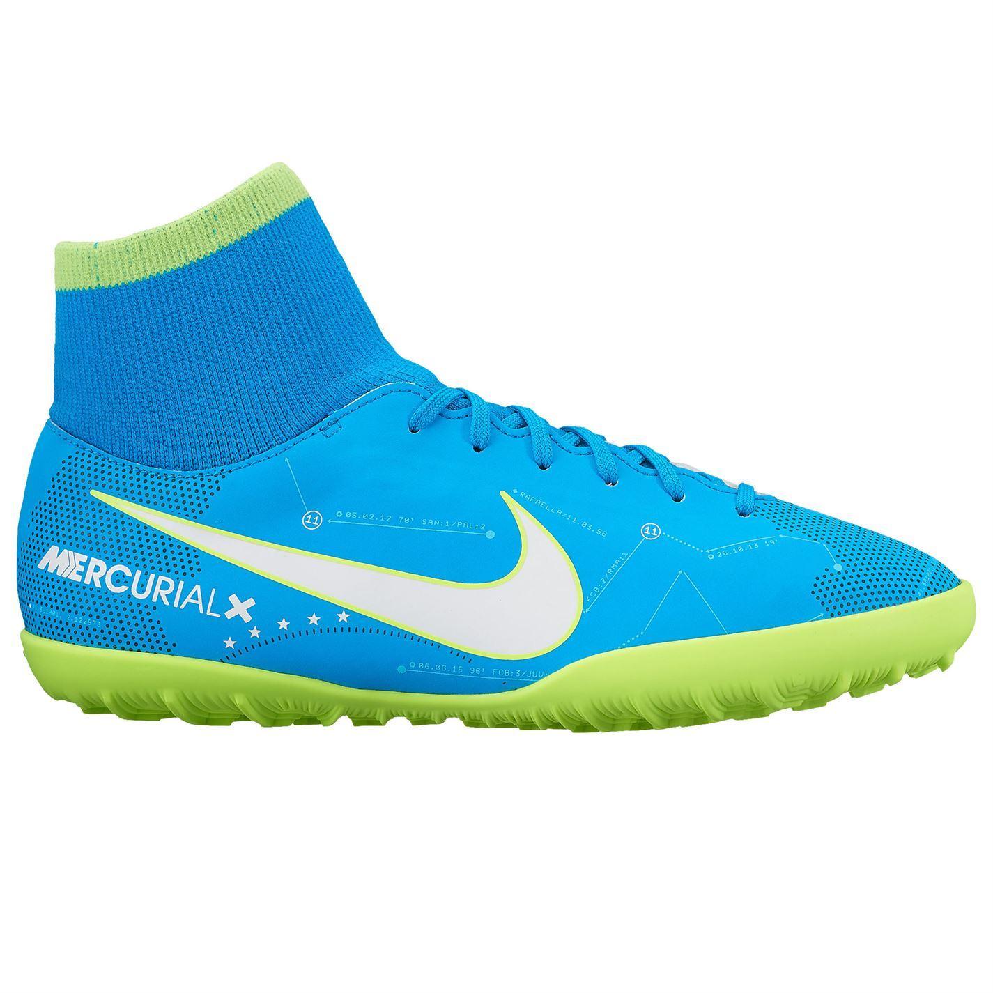 Dettagli su Nike MERCURIAL VICTORY NEYMAR Astro Calcio Scarpe Da Ginnastica Per Ragazzi Blu Scarpe Da Calcio mostra il titolo originale