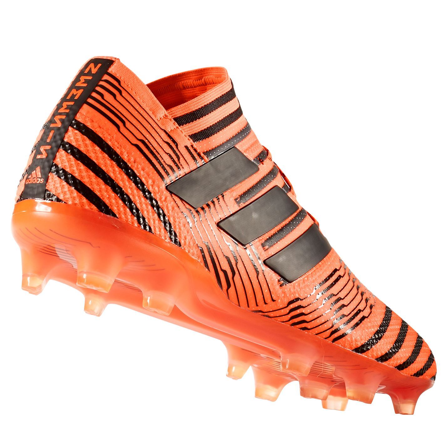 c4ec3819fae ... adidas Nemeziz 17.1 Firm Ground Football Boots Mens Orange Black Soccer  Cleats