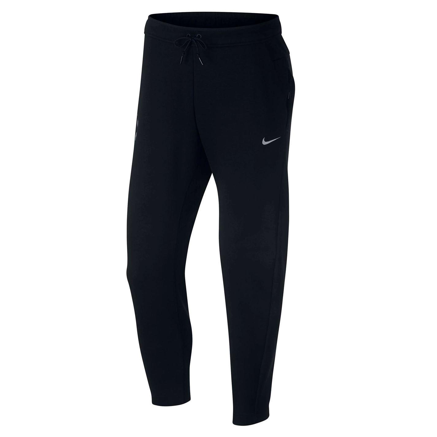 pasión Demon Play Residente  Nike Tottenham Hotspur Tech Polar Pantalones Chándal Hombre Negro ...