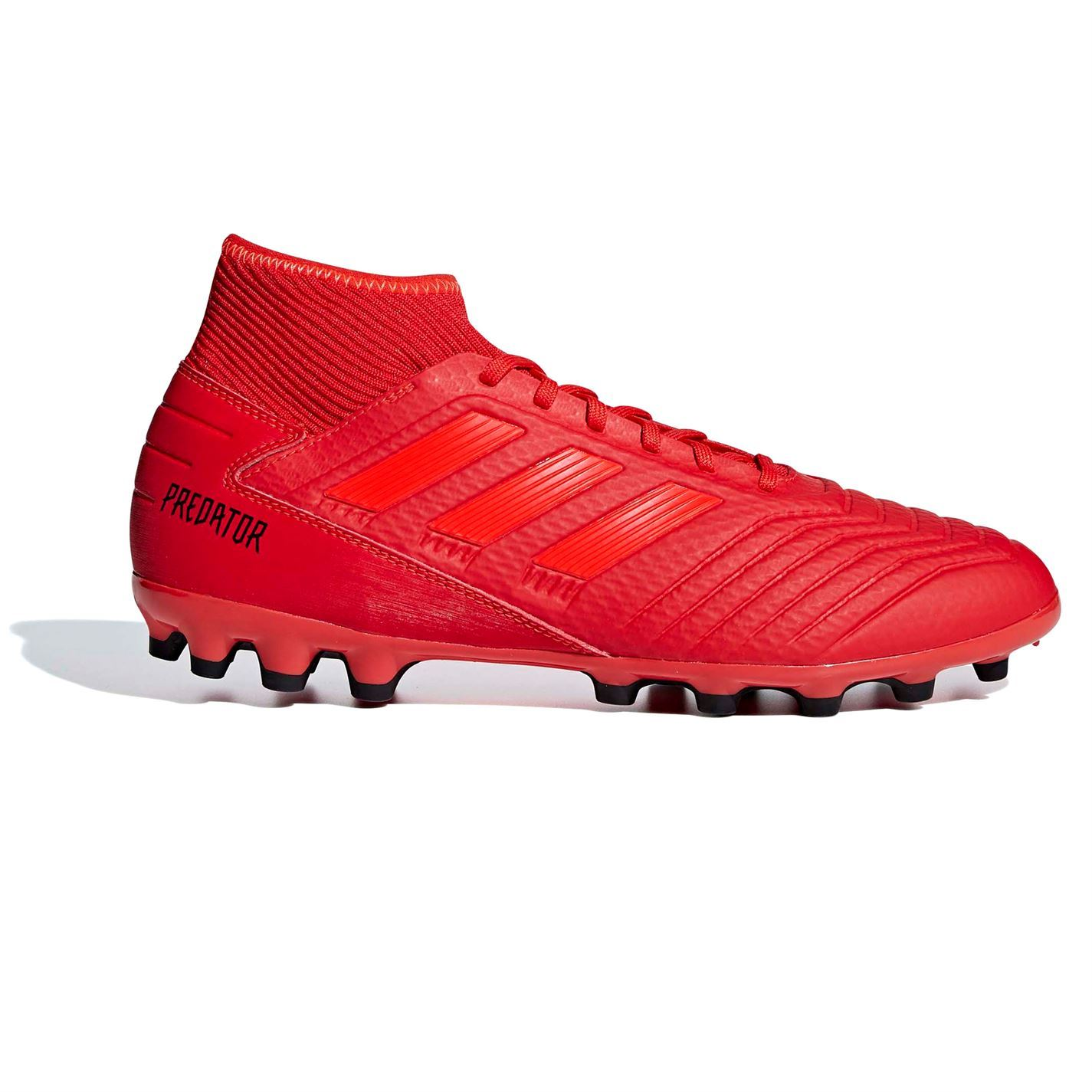 ... adidas Predator 19.3 AG Artificial Ground Football Boots Mens Red Soccer  Cleats ... 8ca78d86ca7f8