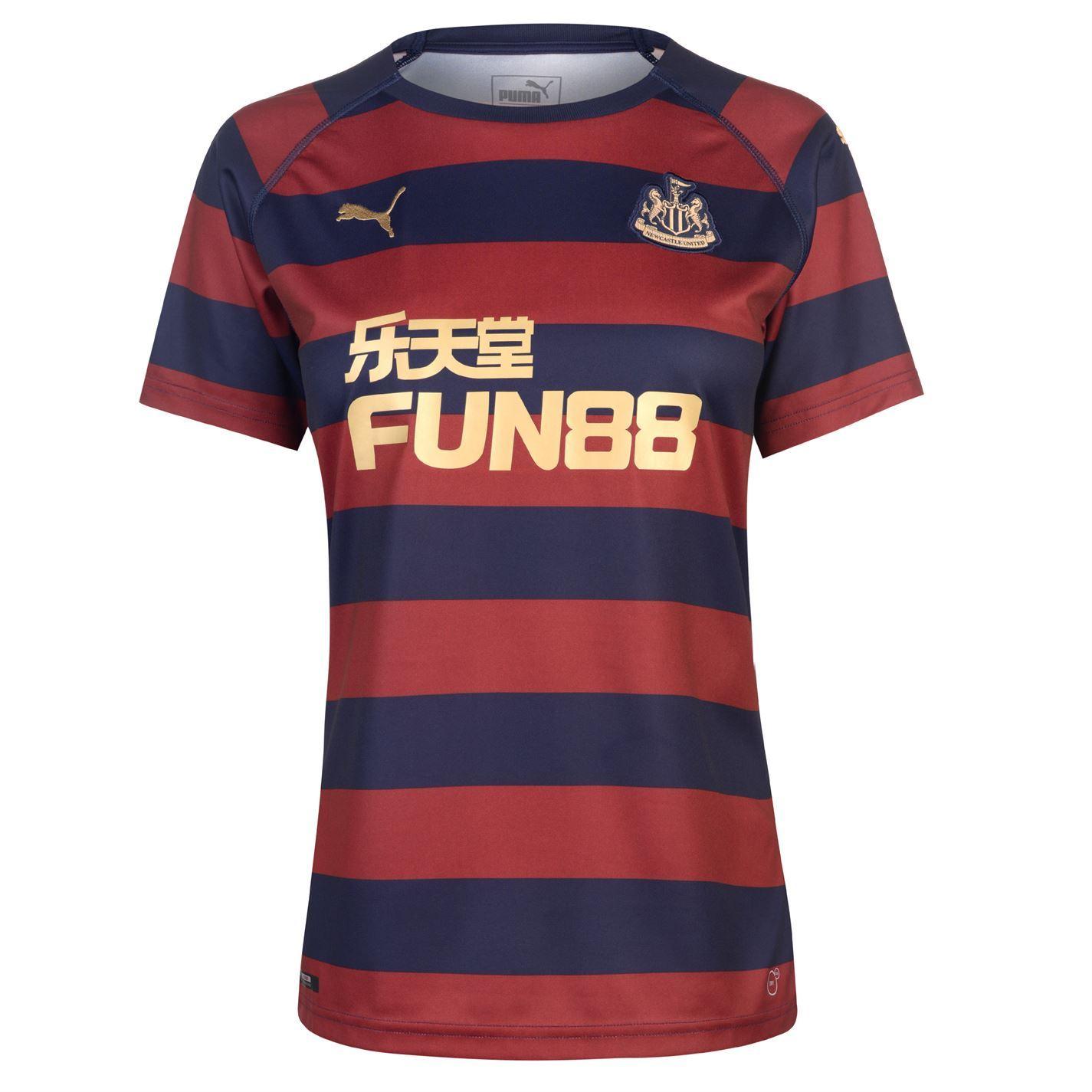 281171846ae ... Puma Newcastle United Away Jersey 2018 19 Womens Navy Football Soccer  Shirt Top ...