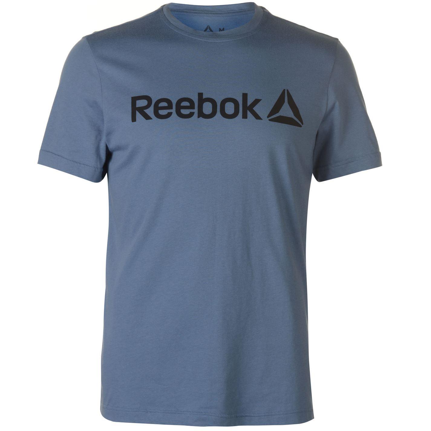 Reebok-Delta-Logo-T-Shirt-Mens-Tee-Shirt-Top thumbnail 14