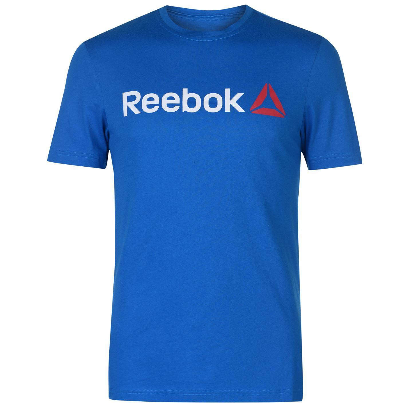 Reebok-Delta-Logo-T-Shirt-Mens-Tee-Shirt-Top thumbnail 9