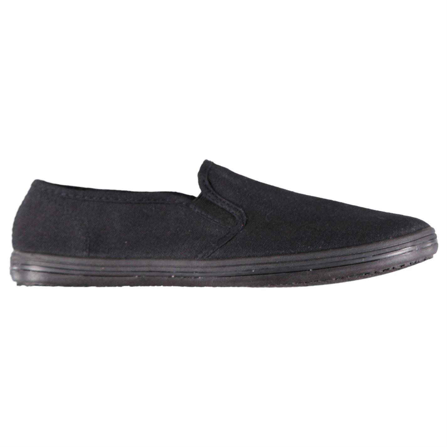 Athleisure Slip Canvas on Womens schoenen schoenen Sneakers Slazenger Trainers ZX1qww